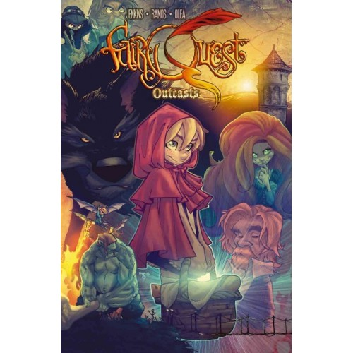 Carte Postale Fairy Quest Serie 1 006
