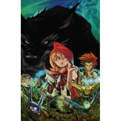 Carte Postale Fairy Quest Serie 1 007