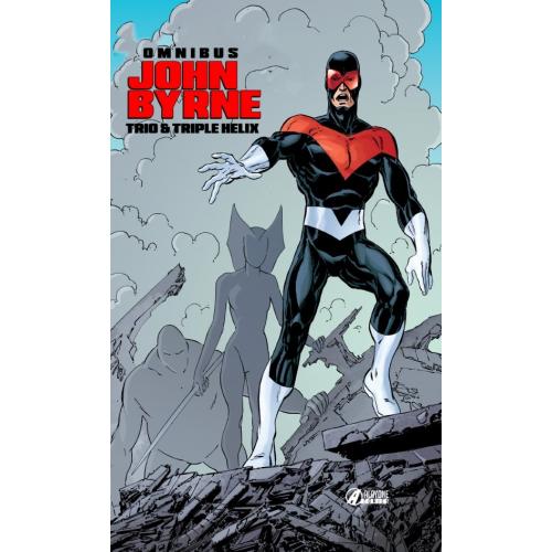 TRIO TRIPLE HELIX - JOHN BYRNE OMNIBUS (VF) - COVER B - NOUVEAU PRIX : 19,90€ au lieu de 29,90€