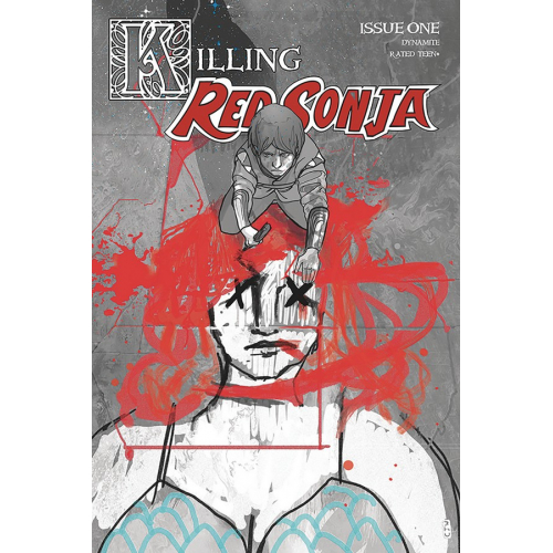 KILLING RED SONJA 1 20 COPY WARD CRIMSON SPOT COLOR INCV (VO)