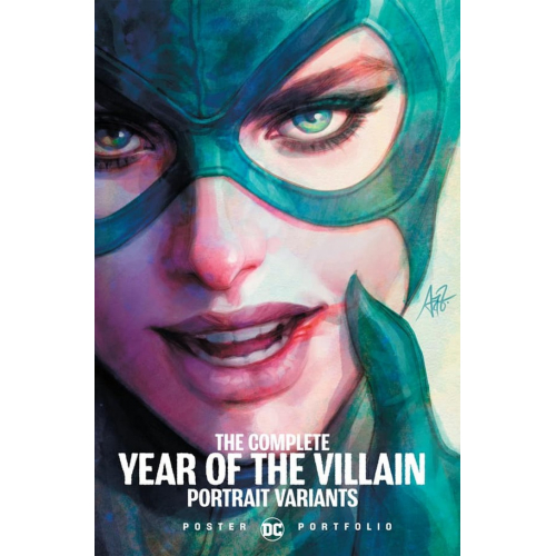 DC POSTER PORTFOLIO: YEAR OF THE VILLAIN TP (VO)