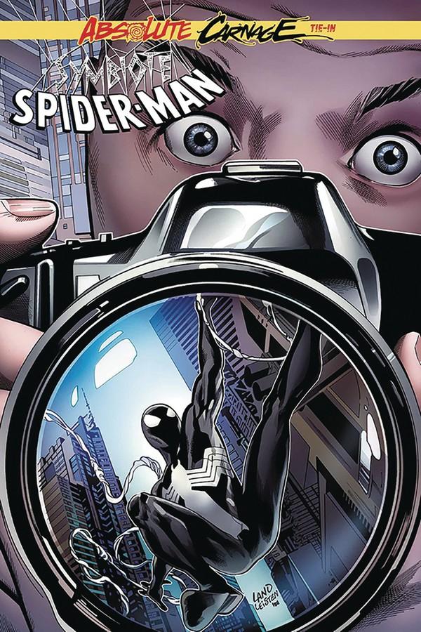 DF ABSOLUTE CARNAGE SYMBIOTE SPIDER-MAN 1 Signé par Peter David