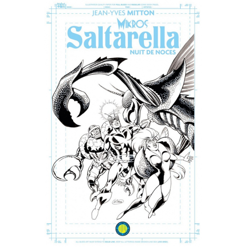 SALTARELLA BLUELINE EDITION (VF) COUVERTURE CLASSIQUE
