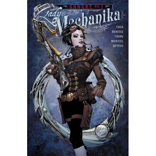 Lady Mechanika Tome 7 Sangre (VF)