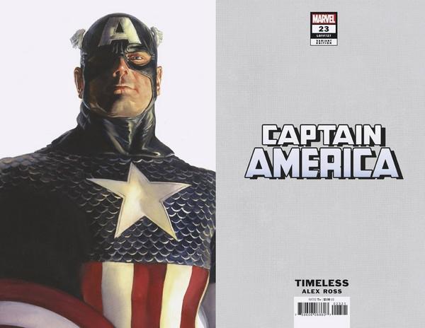 CAPTAIN AMERICA 23 ALEX ROSS CAPTAIN AMERICA TIMELESS VAR (VO)
