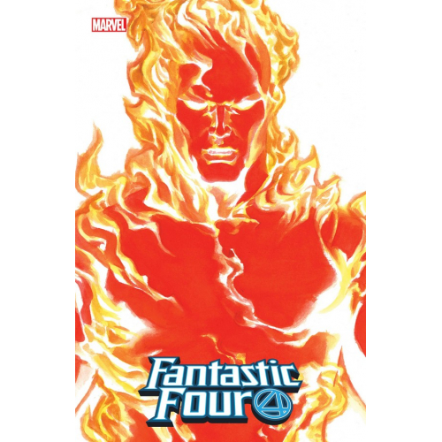 FANTASTIC FOUR 24 ALEX ROSS HUMAN TORCH TIMELESS VAR EMP (VO)
