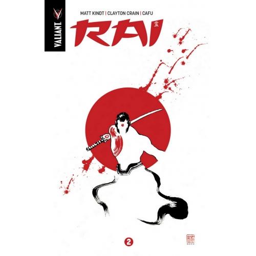 RAI Intégrale Tome 2 Édition Collector Exclusive Original Comics 200ex (VF) Occasion