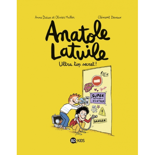 Anatole Latuile Tome 05 - Ultra-top secret ! (VF)
