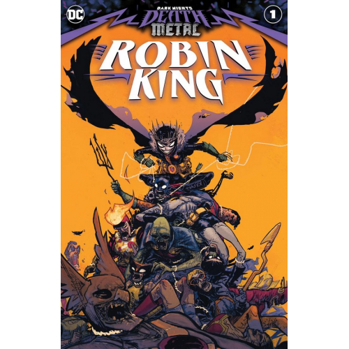 DARK KNIGHTS: DEATH METAL ROBIN KING 1 (VO)