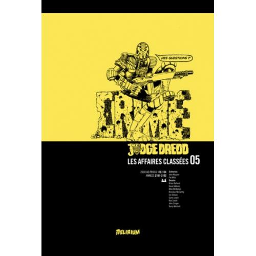 Judge Dredd : Les affaires classées Tome 5 (VF)