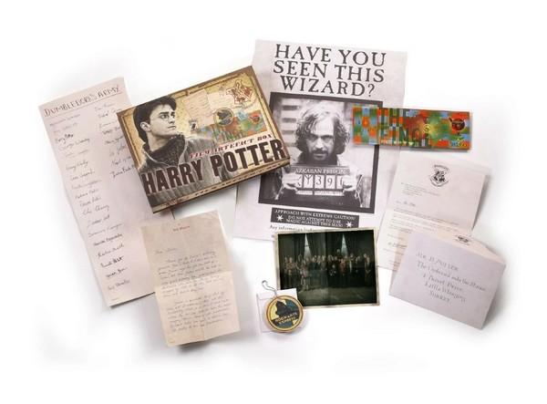 Boîte d'artefacts Harry Potter
