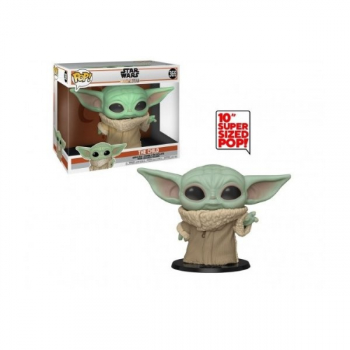 Funko Pop The Child (Baby Yoda) - Star Wars : The Mandalorian Over Sized 25cm 369