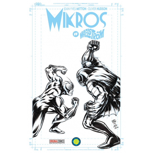 MIKROS VS MAELSTROM EDITION EXCLUSIVE ORIGINAL COMICS (VF)