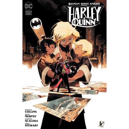 BATMAN : WHITE KNIGHT PRESENTS: HARLEY QUINN 1 variant cover MATTEO SCALERA (VO)