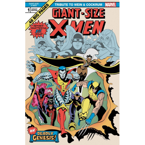 GIANT SIZE X-MEN TRIBUTE WEIN COCKRUM 1 MOORE VAR (VO)
