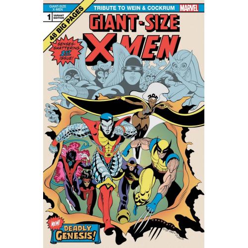 GIANT SIZE X-MEN TRIBUTE WEIN COCKRUM 1 MOORE VAR (VO)