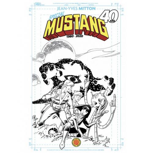 Spécial Mustang 40 ans - Blueline Variant Edition (VF)