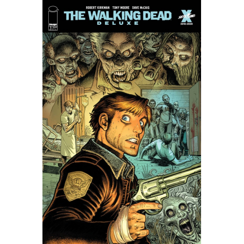 WALKING DEAD DELUXE 1 CVR E ADAMS (VO)