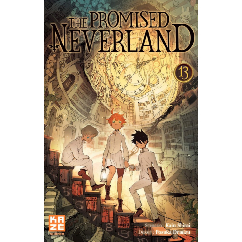 The promised Neverland Tome 13 (VF)