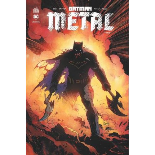 Batman Métal Pack Tome 1 + Tome 2 offert (VF)