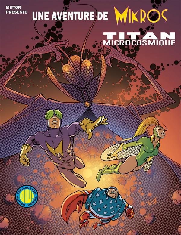 MIKROS VS MAELSTROM EDITION EXCLUSIVE ORIGINAL COMICS (VF) Signé par Oliver Hudson