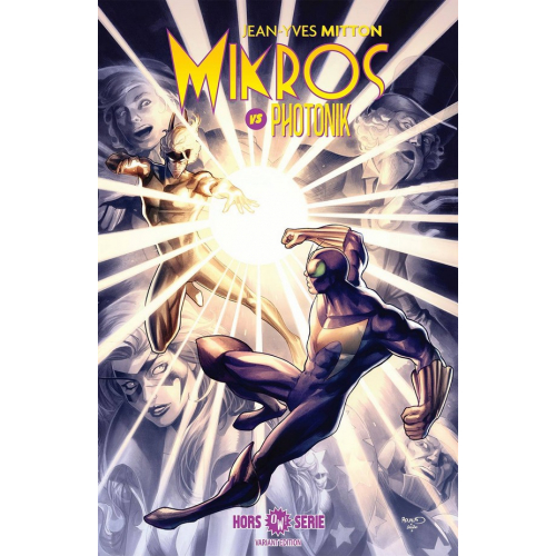 MIKROS vs PHOTONIK Version Variant Cover Paul Renaud (VF) Signé par Paul Renaud