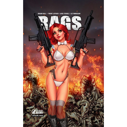 RAGS tome 1 Killing Zombie Edition (VF) (3ème tirage) - 300 ex