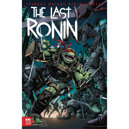 TMNT THE LAST RONIN 2 (OF 5)