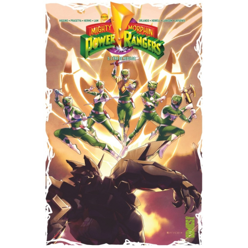 Power Rangers Tome 3 (VF)