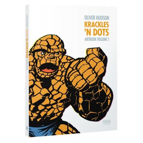 Artbook Oliver Hudson Krackles N Dots 1 (VF) Signé par OLIVER HUDSON