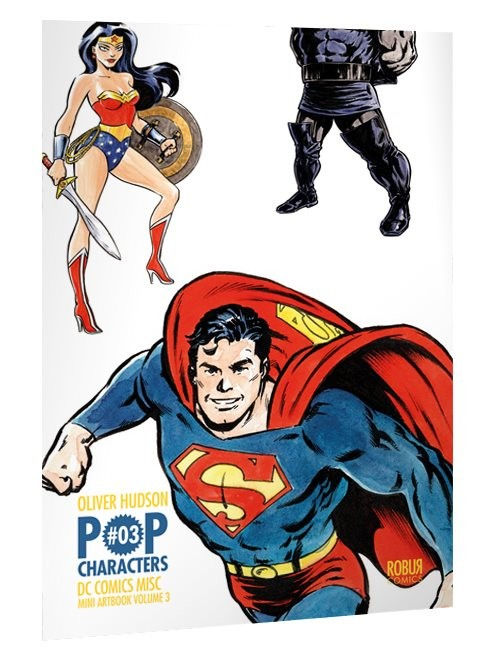 Mini Artbook Oliver Hudson Pop Characters Amin Misc 2 (VF)