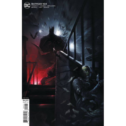 BATMAN 104 (VO) CARDSTOCK FRANCESCO MATTINA VARIANT