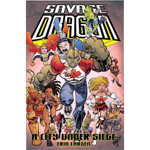 SAVAGE DRAGON CITY UNDER SIEGE TP (VO)