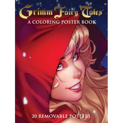 GRIMM FAIRY TALES COLORING POSTER BOOK (VO)