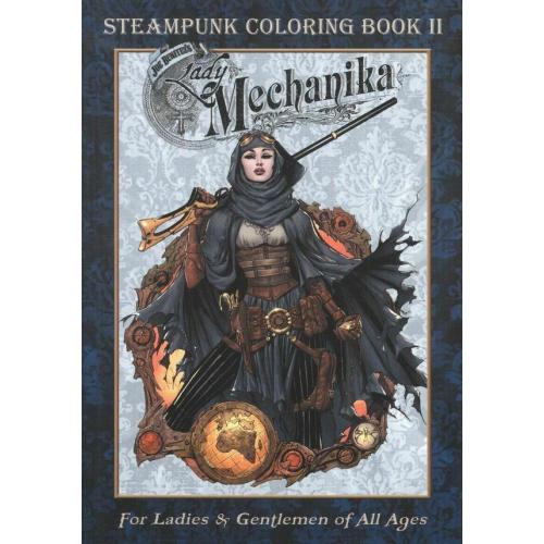Lady Mechanika Steampunk Coloring Book Vol 2 (VO)