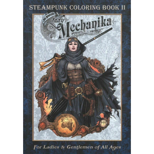 Lady Mechanika Steampunk Coloring Book Vol 2 (VO)
