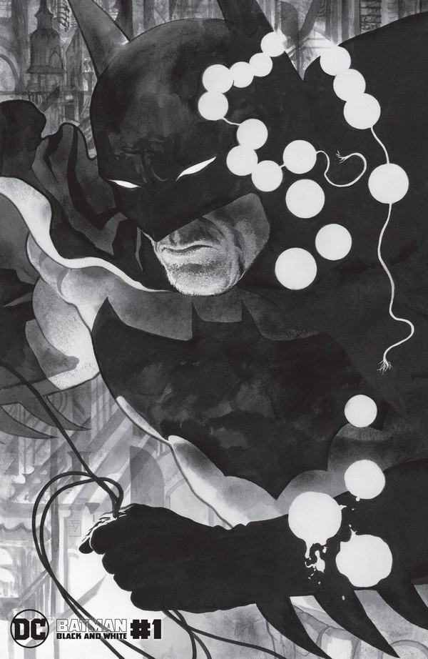 BATMAN BLACK AND WHITE 1 (OF 6) VARIANT A (VO)