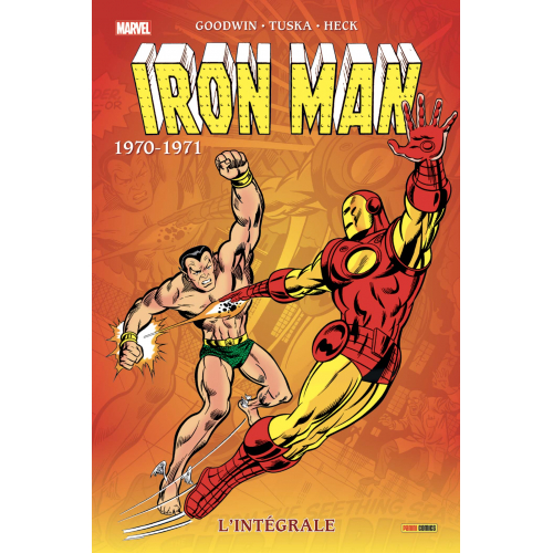 Iron Man : L'intégrale 1970-71 (Nouvelle édition) (VF)