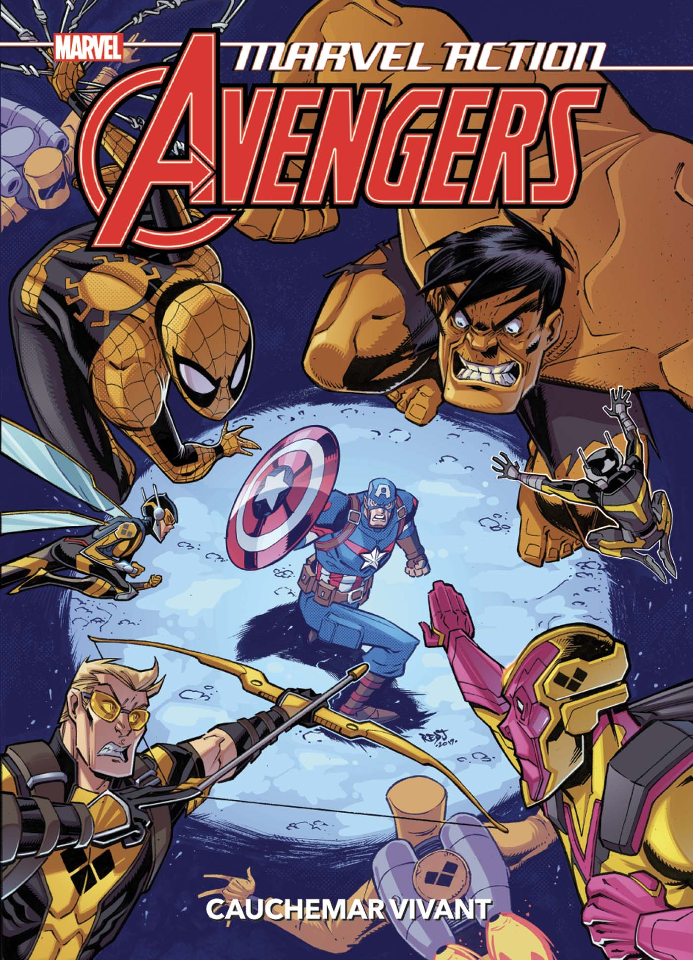 Marvel Action Avengers Tome 4 (VF)