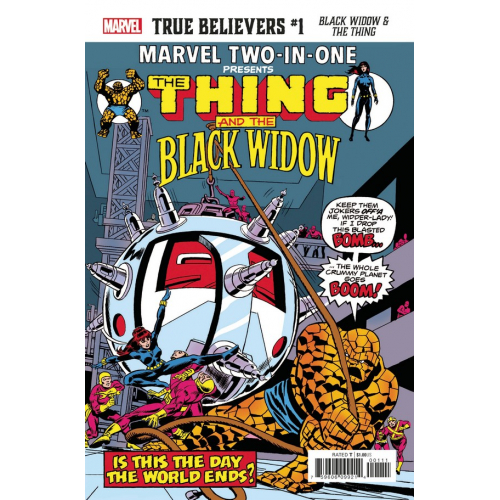 BLACK WIDOW & THE THING 1 (VO)