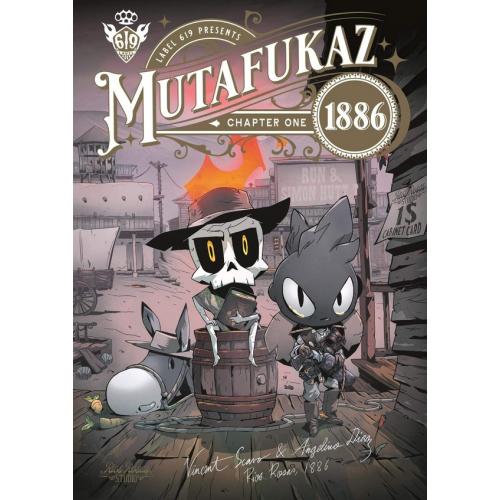 Mutafukaz 1886 Tome 1 (VF)