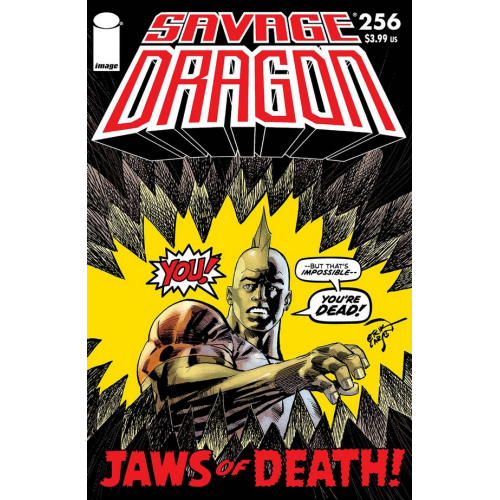 SAVAGE DRAGON 256 CVR A LARSEN (VO)