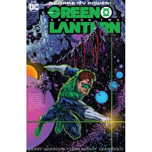 GREEN LANTERN SEASON TWO VOL 01 HC (VO)