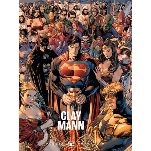 DC POSTER PORTFOLIO: CLAY MANN TP (VO)