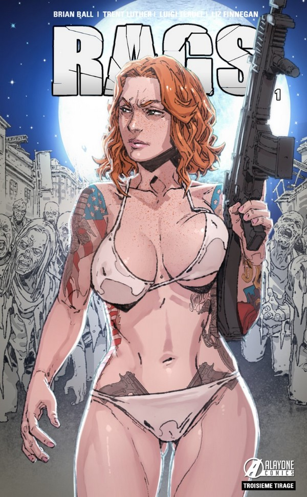 RAGS tome 1 Full Moon Edition (VF) (3ème tirage)