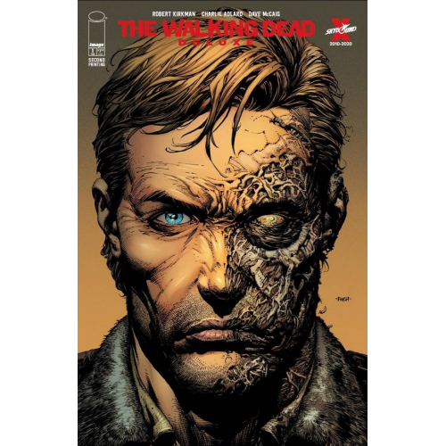 WALKING DEAD DELUXE 1 CVR A FINCH & MCCAIG 2nd Print (VO)