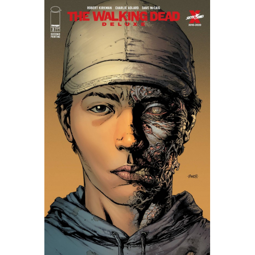 WALKING DEAD DELUXE 2 CVR A FINCH & MCCAIG 2nd Print (VO)