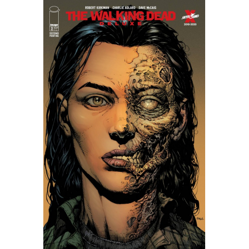 WALKING DEAD DELUXE 3 CVR A FINCH & MCCAIG 2nd Print (VO)