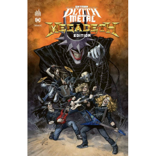 Batman Death Métal 1 Megadeth Édition Tome 1 / Édition Speciale Limitée (VF)