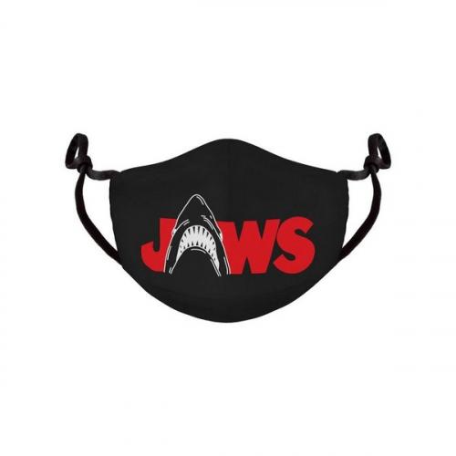 Les Dents de la Mer Masque en tissu Logo
